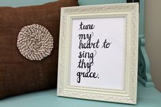 Come Thou Fount Hymn Tune My Heart 8 x10 Print by JourneyJoyful