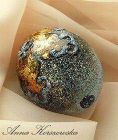 Witaj w moim świecie!: DIY - Pisanka Gold Flower