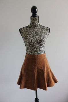Available @ TrendTrunk.com Suede Skater Skirt. By n/a. Only $28!