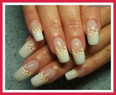 pink and white nail art designs | pink and white nails houghton