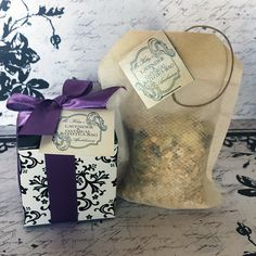 Stocking Stuffer - Organic Lavender & Oats Bath Tea-Bag/Sachet