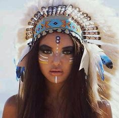 Bohemian Indian headress