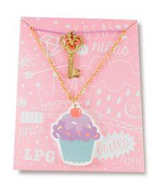 Regalos que encantan: Collar Cupcake  La Pequeña Galería en Dekosas.