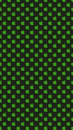 Download Little Green & Black Apples 640 x 1136 Wallpapers - 4430785 - Apple Logo Green Abstract | mobile9