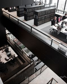 main reading hall in the Utrecht (Netherlands) University Library Library Cafe, World Library, City Library, Modern Library, Library Design, Library Architecture, Architecture Design, Utrecht, Warehouse Project