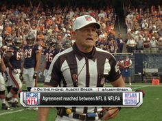 NFL, referees reach agreement; refs back on field Thursday