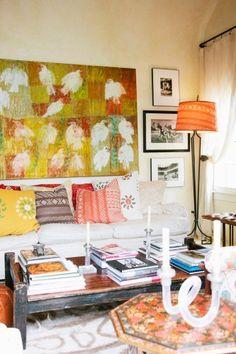 Peek inside a Million Dollar Decorator's too-cool home! Photos by Miha Matei