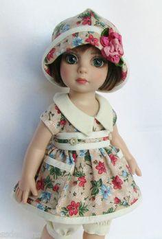 "OOAK Floral Femme Patsy for 10"" Ann Estelle etc Made by Ssdesigns | eBay"