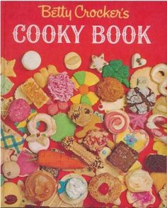 my mom had this cookbook when i was a kid. would go through it over and over planning all the fun cookies i was going to make when i was old enough to use the oven.