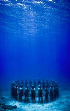 Underwater Sculptures by Jason de Caires Taylor - Grenada