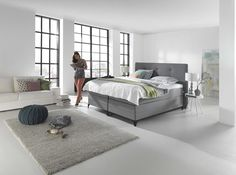 Boxspring home 350 bedroom quarto slaapkamer pinterest