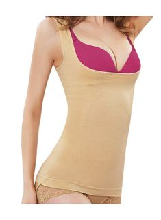 Cell-u-Erase Women Bamboo and Charcoal Infused Fiber Slimming Body Suit