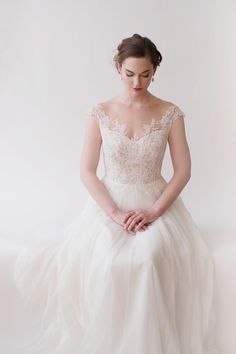 Marcie wedding dress by Anna Kara