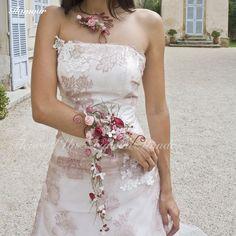 Bouquet bracelet Glamour - Fleurs d'un Nouveau Monde
