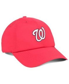 e0081e05f84  47 Brand Washington Nationals Repetition Clean Up Cap - Red Adjustable Washington  Nationals