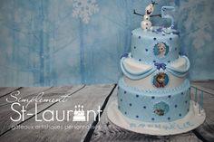 Gâteau de La Reine des Neiges / Frozen