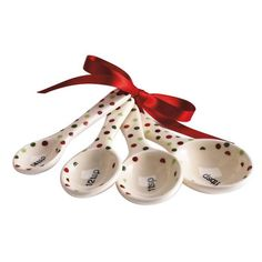 Holiday Dots Measuring Spoon Set