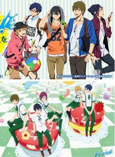 That Reigisa in the second picture...I swear Season 2 had better have some more or there are going to be many unhappy fangirls.