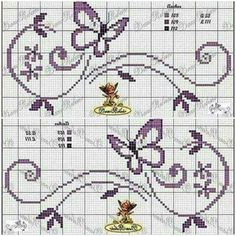This post was discovered by Ma Cross Stitch Letter Patterns, Monogram Cross Stitch, Cross Stitch Love, Cross Stitch Cards, Cross Stitch Borders, Cross Stitch Alphabet, Cross Stitch Designs, Cross Stitching, Cross Stitch Embroidery