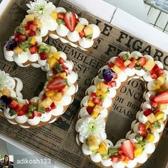 If square or circle-shaped cakes are boring you, try these letter and number cakes! Cupcakes, Cake Cookies, Cupcake Cakes, Cake Icing, Number Birthday Cakes, Number Cakes, 50th Birthday, Cake Birthday, Alphabet Cake