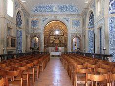 Tiles in Nossa Sr.ª da Consolação do Castelo Church by Miguel H. Carriço