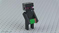 Lego Enderman Mini Build