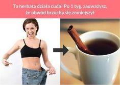 Ta herbata działa cuda! Po 1 tyg. zauważysz, że obwód brzucha się zmniejszył Dieta Fitness, Health Fitness, Body Wraps, Loose Weight, Zumba, Fat Burning, Health And Beauty, Smoothies, Bodybuilding