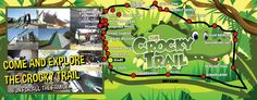 Explore the Crocky Trail in Cheshire. See a map of the trail and look at our picture gallery to see how much fun you could be having on your day out!