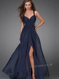 vestido para formatura 2012 azul escuro