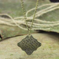 Men's necklacewomen necklace charm necklaceMedals by menbracelet, $2.30