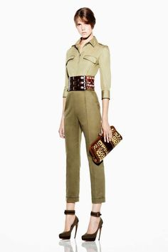 Military fashion Alexander Mcqueen Resort 2012 Your country needs you: military fashion inspiration