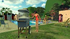 Autonomous SnoCone Machine Just in time for summer! I made the wonderful conversion by Crisps&Kerosene autonomous for my game and got permission to share with you. Sims 2, Pretty Good, How To Look Pretty, Giant Teddy, Sno Cones, Bookmark Printing, Roasting Marshmallows, Buy Business, Old Paintings
