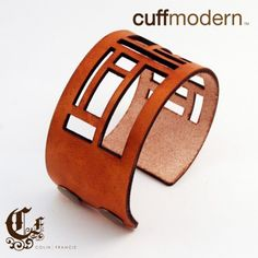 very cool leather cuffs