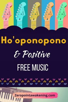 Enjoy this compilation of Ho'oponopono music, and I also included a compilation of positive thinking music. The music in Ho'oponopono is very important to influence our subconscious, so if we use special music with the four phrases included with can make our healing practice more fun and effective! #hooponopono #healing #selfhelp #healingmusic #joevitale #positivethinking Free Playlist, Joe Vitale, Happy Song, Music Heals, All Songs, Free Reading, Dream Life, Law Of Attraction, Self Help