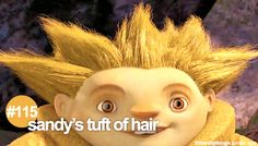 "#115 ""Sandy's tuft of hair."""