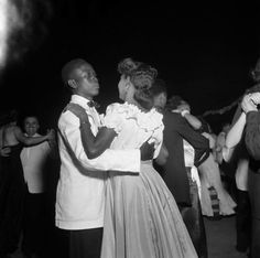 Students at a dance in 1951.