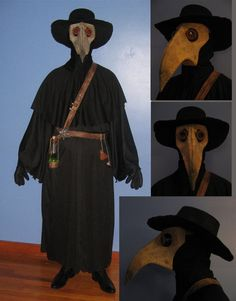 Plague Doctor Costume by ~stinkywigfiddle on deviantART