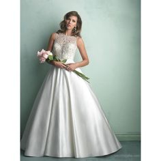 Morden A-Line Floor-Length Lace Beading Court Train Wedding Dress and other apparel, accessories and trends. Browse and shop 3 related looks.
