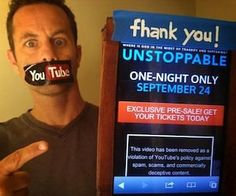 "Kirk Cameron's ""UNSTOPPABLE"" Trailer was lost, now found...24 SEPTEMBER"