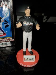 "Florida Marlins Logan Morrison  Doll by ""UHealth"" Toothbrush Holder"" 6"" Tall #FloridaMarlins Cut Clothes, Fast Weight Loss, Toothbrush Holder, New Outfits, Florida, Dolls, Ebay, Rapid Weight Loss"