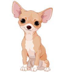 chihuahua cartoon - Google Search Chihuahua Drawing, Puppy Drawing, Teacup Chihuahua, Chihuahua Puppies, Cute Puppies, Cute Dogs, Dogs And Puppies, Creel Chihuahua, Doggies