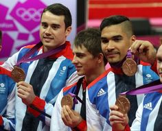 GB Men's Gymnastics team win bronze at the London 2012 Olympic Games.