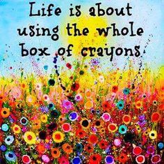 Discover and share Crayon Quotes Life. Explore our collection of motivational and famous quotes by authors you know and love. Great Quotes, Quotes To Live By, Me Quotes, Inspirational Quotes, Wing Quotes, Motivational Monday, Sassy Quotes, Happy Thoughts, Positive Thoughts