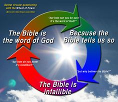 I love it when a creationist accuses me of using circular logic... oh the irony!