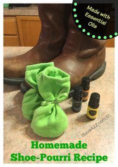 Homemade Shoe-pourri Recipe - iSaveA2Z.com