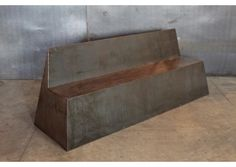 Steel Bench, Cleveland Art