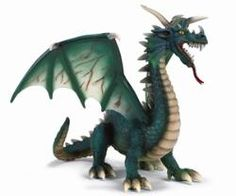 Green Dragon from Schleich #dragons #figurines