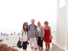 Nice, september 2012 (Terje, Jane-Lisbeth og Anne-Lise)