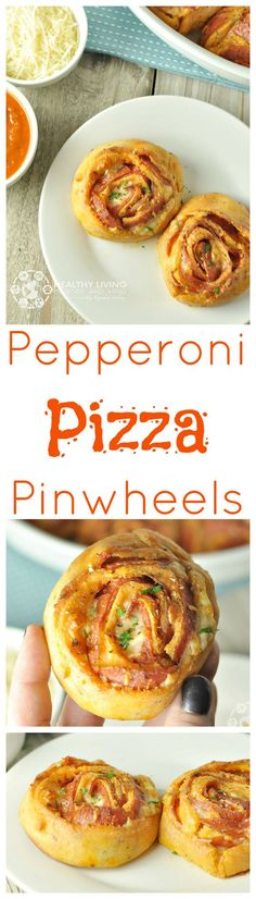 Pepperoni Pizza Pinwheels - Low Carb, Gluten Free | Peace Love and Low Carb