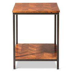 Preston End Table Parquet - Threshold™